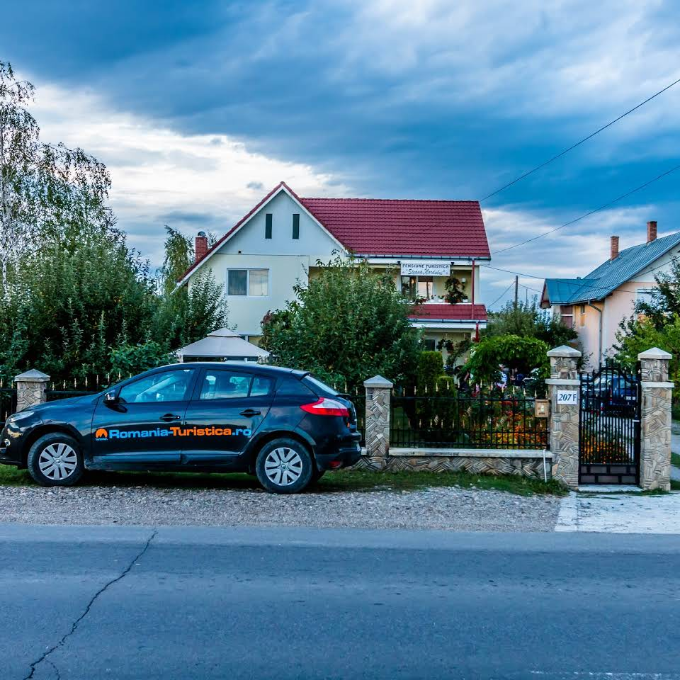 localizare pensiune Targu Neamt